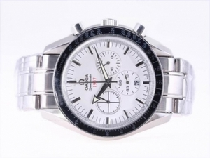 Vintage Omega Speedmaster 1957 Working Chronograph with White Dial-Olympic Edition AAA Watches [J5N6]