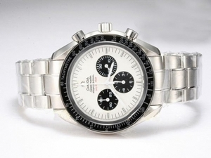 Vintage Omega Speedmaster Broad Arrow Working Chronograph with Wjhite Dial AAA Watches [F5U7]