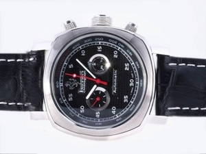 Fancy Panerai Ferrari Chronograph Automatic with Black Dial and Strap AAA Watches [P2R3]
