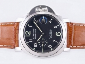 Fancy Panerai Luminor Marina Automatic With Plated 18K Gold Movement AAA Watches [O4M8]