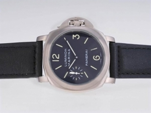 Fancy Panerai Luminor Marina With Unitas 6497 Movement-Full Titanium Coating AAA Watches [Q7B9]