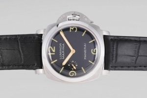 Great Panerai Luminor Marina Unitas 6497 Movement with Black Sandwich AAA Watches [P5D8]