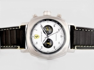 Modern Panerai Ferrari Rattapante Chronograph Automatic with White Dial AAA Watches [S4A9]