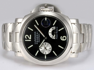 Modern Panerai Luminor PAM 124 Working Power Reserve Automatic AAA Watches [R2H5]
