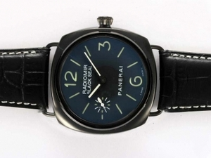 Modern Panerai Radiomir Black Seal Unitas 6497 Movement With PVD Case AAA Watches [M9K8]