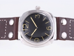 Perfect Panerai Luminor Vintage Base Version With Unitas 6497 Movement AAA Watches [O1X1]