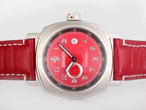 Popular Panerai Ferrari Rattapante Automatic with Red Dial AAA Watches [J3W2]