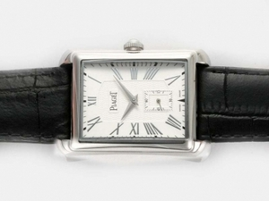 Fancy Piaget Emperador Manual Winding with White Dial AAA Watches [P1G8]