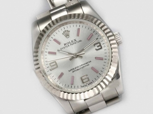 Cool Rolex Air-King Oyster Perpetual Automatic with White Dial-New Version AAA Watches [D2S5]