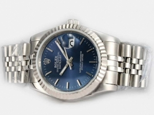 Gorgeous Rolex DateJust Automatic with Blue Dial AAA Watches [F4I9]