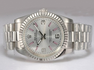 Great Rolex Air-King Automatic with Silver Dial AAA Watches [L3B3]