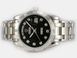Modern Rolex Masterpiece Automatic Diamond Marking with Black Computer Marking AAA Watches [M1N8]