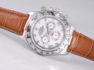 Popular Rolex Daytona Working Chronograph with MOP Dial-Roman Marking AAA Watches [M1N5]