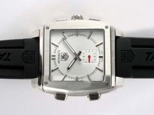 Cool Tag Heuer Monaco Sixty Nine Microtimer Digital with White Dial AAA Watches [N1W2]