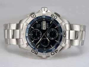 Fancy Tag Heuer Aquaracer Chrono Day-Date Chronograph Automatic