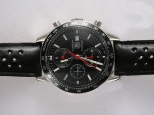 Quintessential Tag Heuer Carrera Chronograph Automatic Black Dial and Bezel AAA Watches [G2V7]
