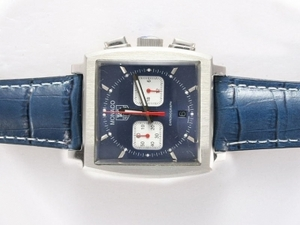 Vintage Tag Heuer Monaco Calibre 360 Working Chronograph with Black Dial AAA Watches [W9S1]