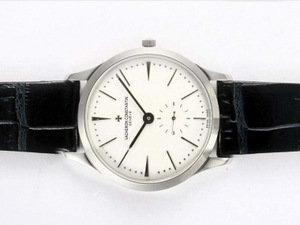 Gorgeous Vacheron Constantin Patrimony Manual Winding with White Dial AAA Watches [B7Q1]