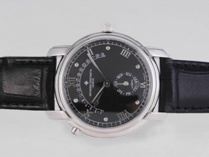 Great Vacheron Constantin Patrimony Day-Date Flyback With Black Dial AAA Watches [N1B6]
