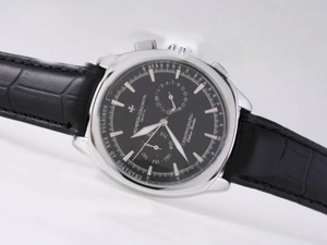 Modern Vacheron Constantin Classic Chronograph Automatic with Black Dial AAA Watches [A1P8]