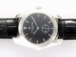 Quintessential Vacheron Constantin Patrimony Automatic with Black Dial AAA Watches [S4L7]