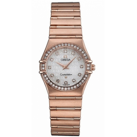 1.158,75 Copy Omega Orologi Constellation Ladies Quartz [620a]