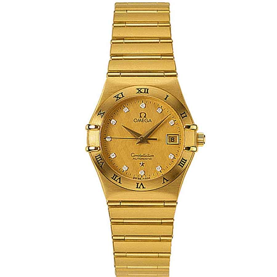 1192.15.00 Copy Omega Watches Constellation Ladies automatic mechanical watches  [f452]