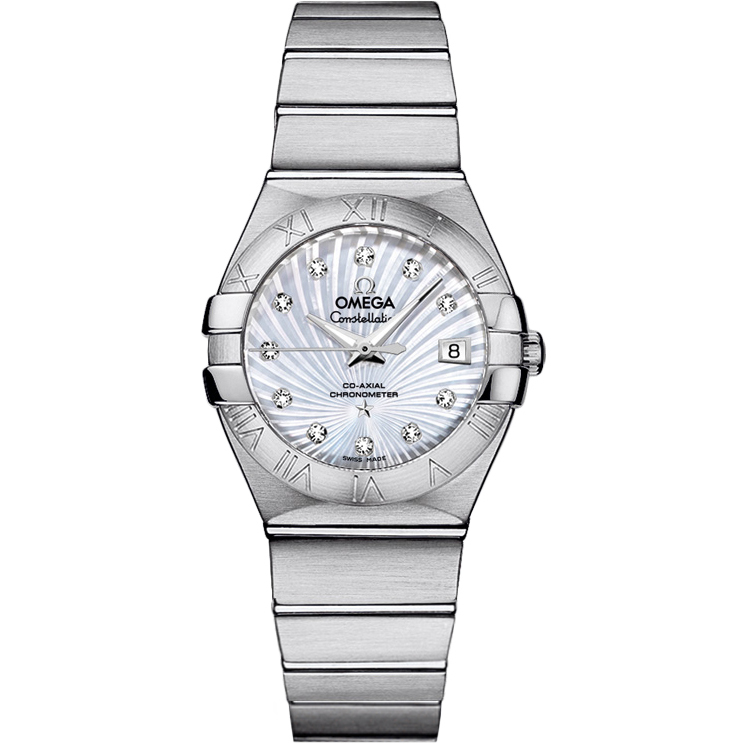 Copy Omega Watches Constellation Ladies 123.10.27.20.55.001 Automatic mechanical watches [458f]
