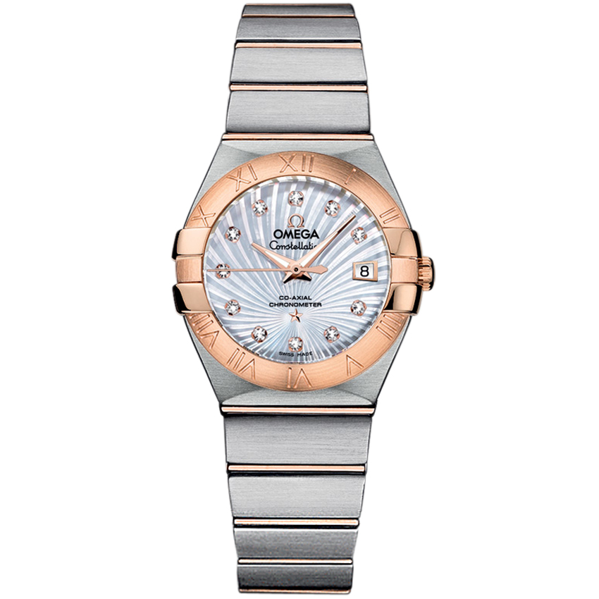 Copy Omega Watches Constellation Ladies 123.20.27.20.55.001 Automatic mechanical watches [b573]