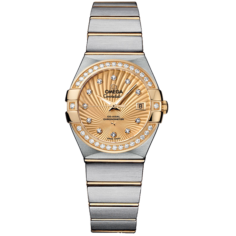 Copy Omega Watches Constellation Ladies 123.25.27.20.58.001 Automatic mechanical watches [5153]