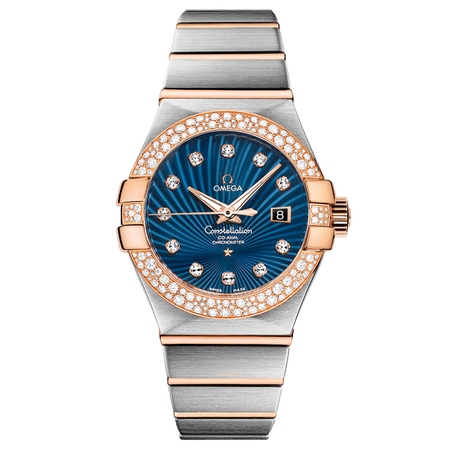 Copy Omega Watches Constellation Ladies 123.25.31.20.53.001 Automatic mechanical watches [516f]