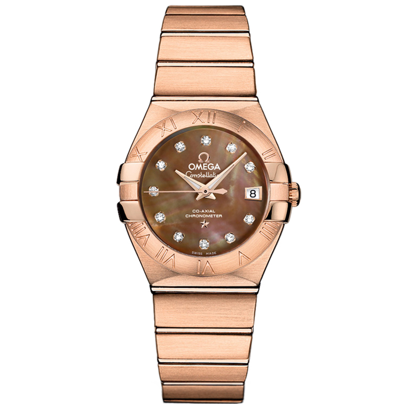 Copy Omega Watches Constellation Ladies 123.50.27.20.57.001 Automatic mechanical watches [0e95]