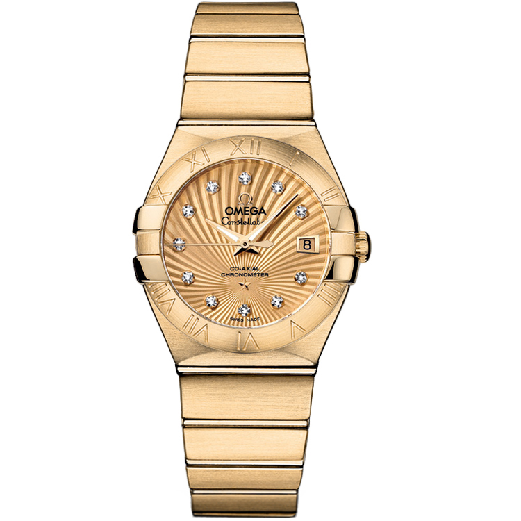 Copy Omega Watches Constellation Ladies 123.50.27.20.58.001 Automatic mechanical watches [511c]