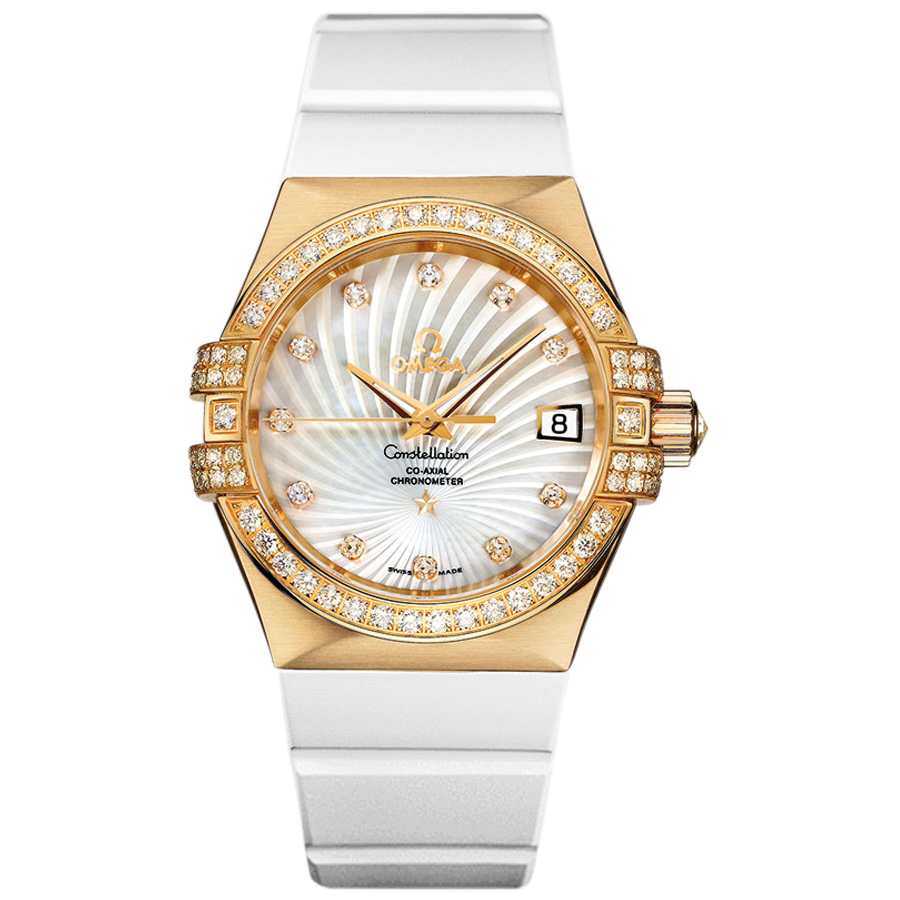 Copy Omega Watches Constellation Ladies 123.57.35.20.55.003 Automatic mechanical watches [e0ea]