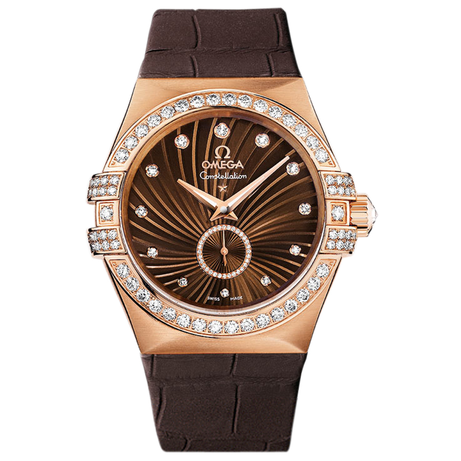 Copy Omega Watches Constellation Ladies 123.58.35.20.63.001 Automatic mechanical watches [3fb9]