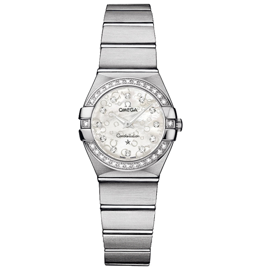 123.15.24.60.55.005 Copy Omega Watches Constellation Ladies Quartz watch [6936]
