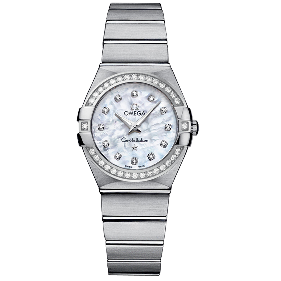 123.15.27.60.55.001 Copy Omega Watches Constellation Ladies Quartz watch [f24b]