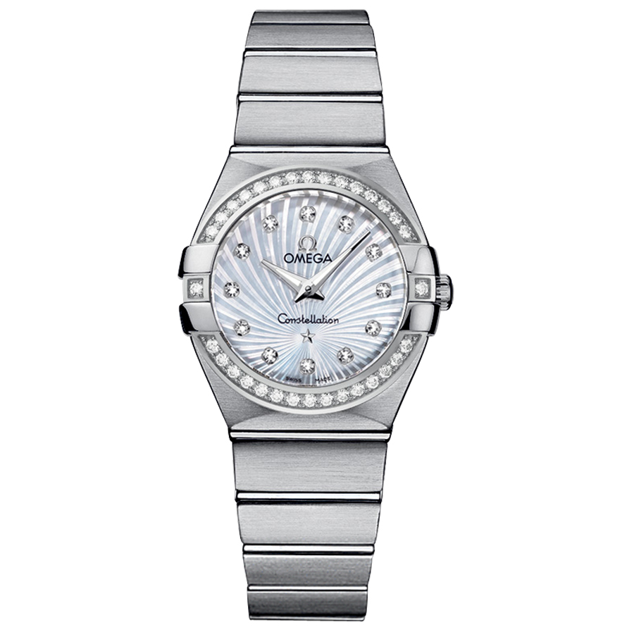 123.15.27.60.55.002 Copy Omega Watches Constellation Ladies Quartz watch [573c]