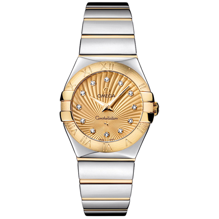 123.20.27.60.58.002 Copy Omega Watches Constellation Ladies Quartz watch [a095]