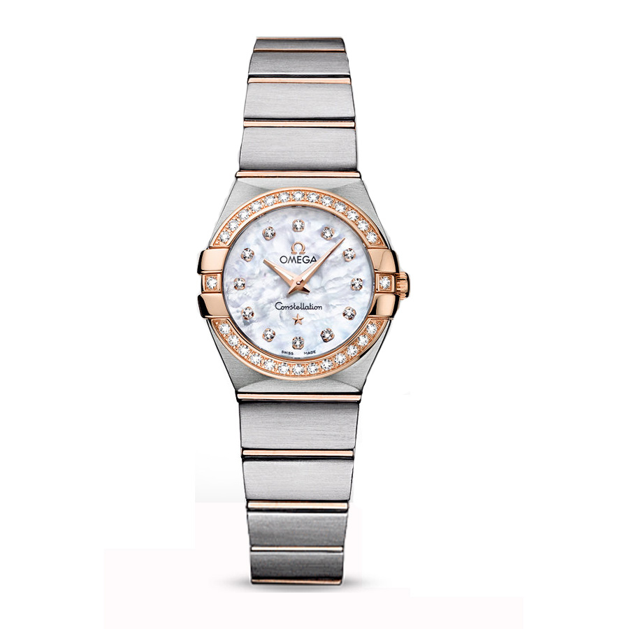 123.25.24.60.55.001 Copy Omega Watches Constellation Ladies Quartz watch [93c5]