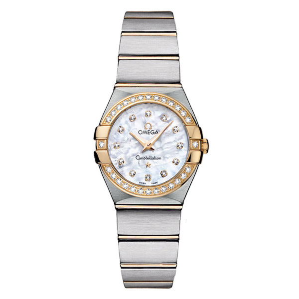 123.25.24.60.55.003 Copy Omega Watches Constellation Ladies Quartz watch [aa33]