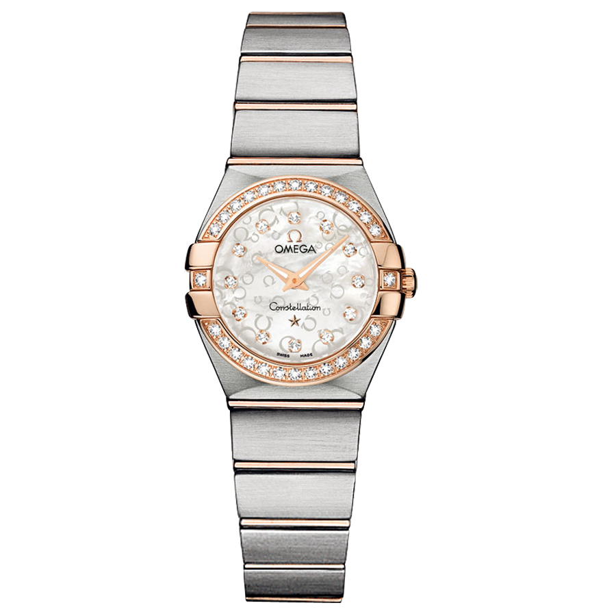123.25.24.60.55.009 Copy Omega Watches Constellation Ladies Quartz watch [4aed]