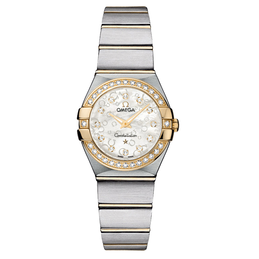 123.25.24.60.55.010 Copy Omega Watches Constellation Ladies Quartz watch [4421]