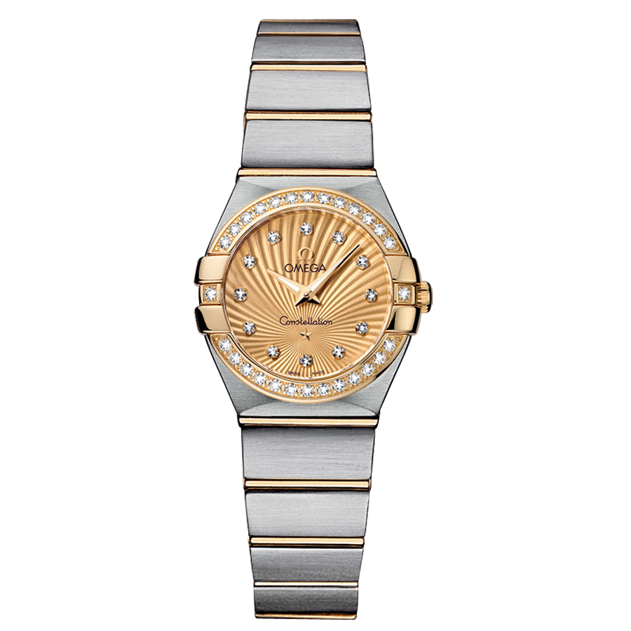 123.25.24.60.58.001 Copy Omega Watches Constellation Ladies Quartz watch [1238]