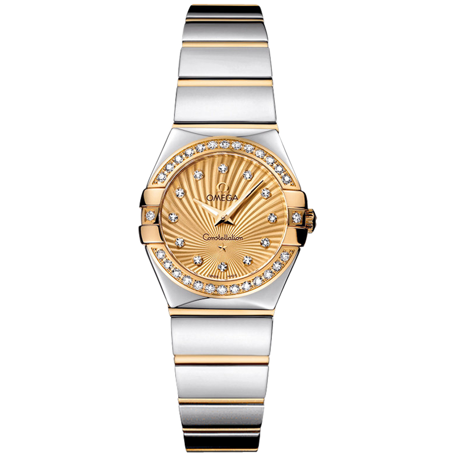 123.25.24.60.58.002 Copy Omega Watches Constellation Ladies Quartz watch [cb80]