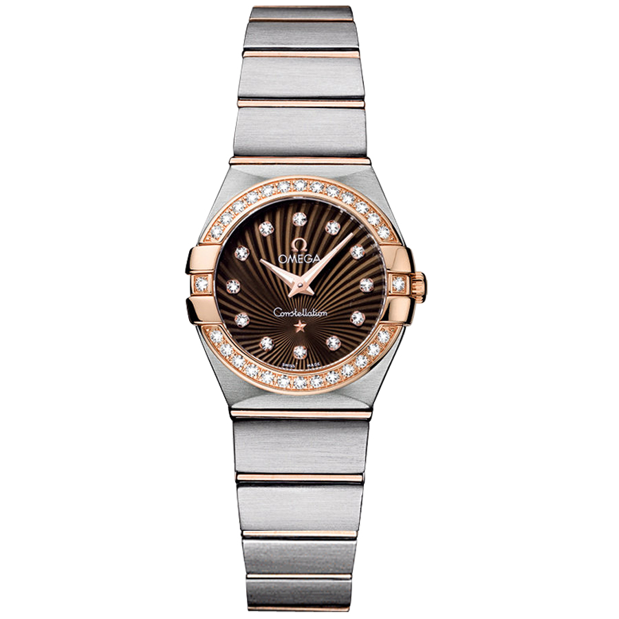 123.25.24.60.63.001 Copy Omega Watches Constellation Ladies Quartz watch [1dd2]