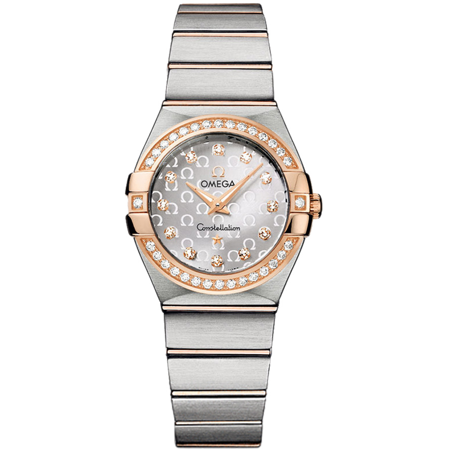123.25.27.60.52.001 Copy Omega Watches Constellation Ladies Quartz watch [859a]