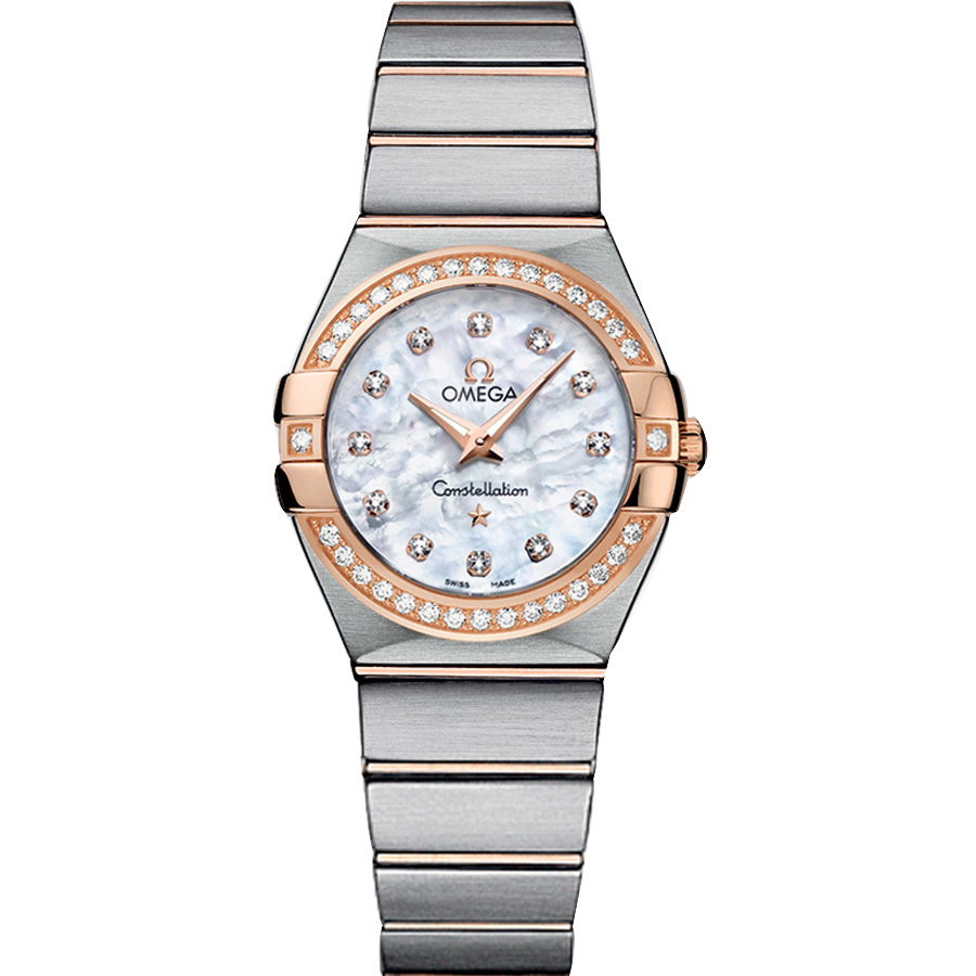 123.25.27.60.55.001 Copy Omega Watches Constellation Ladies Quartz watch [50bc]