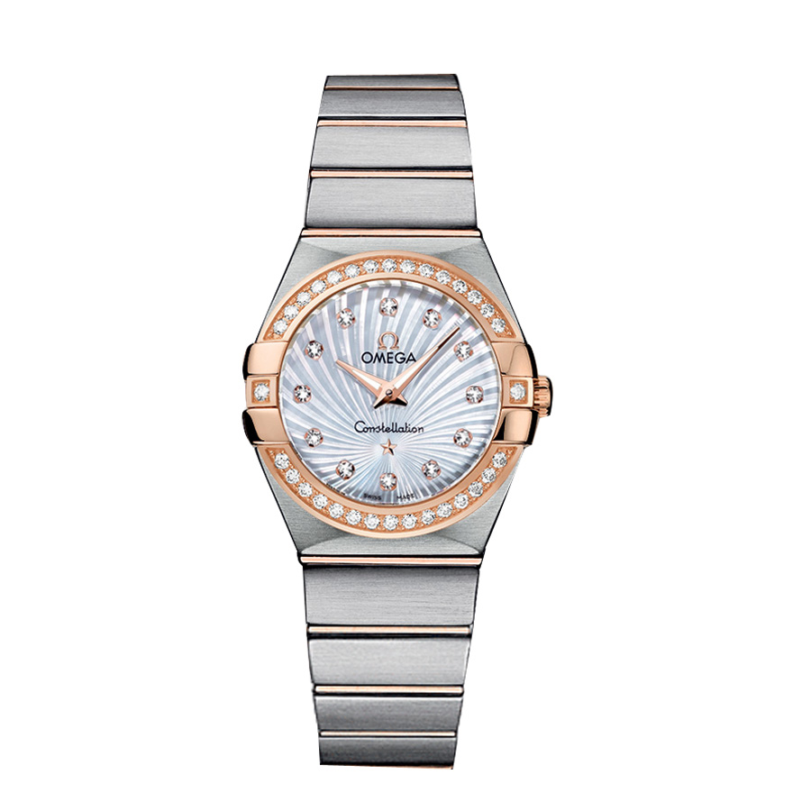 123.25.27.60.55.002 Copy Omega Watches Constellation Ladies Quartz watch [d759]