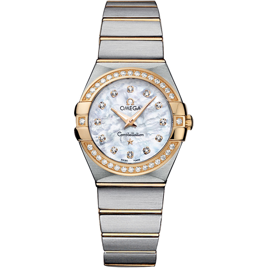 123.25.27.60.55.003 Copy Omega Watches Constellation Ladies Quartz watch [400e]
